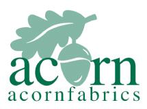 Acorn fabrics logo